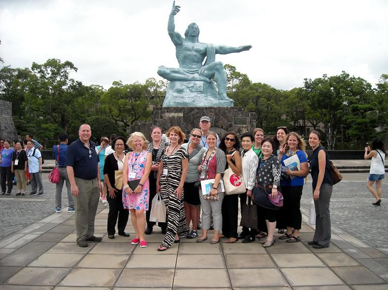 Teacher visits Japanese cities ravaged by atomic warfare, comes back with new view of history
