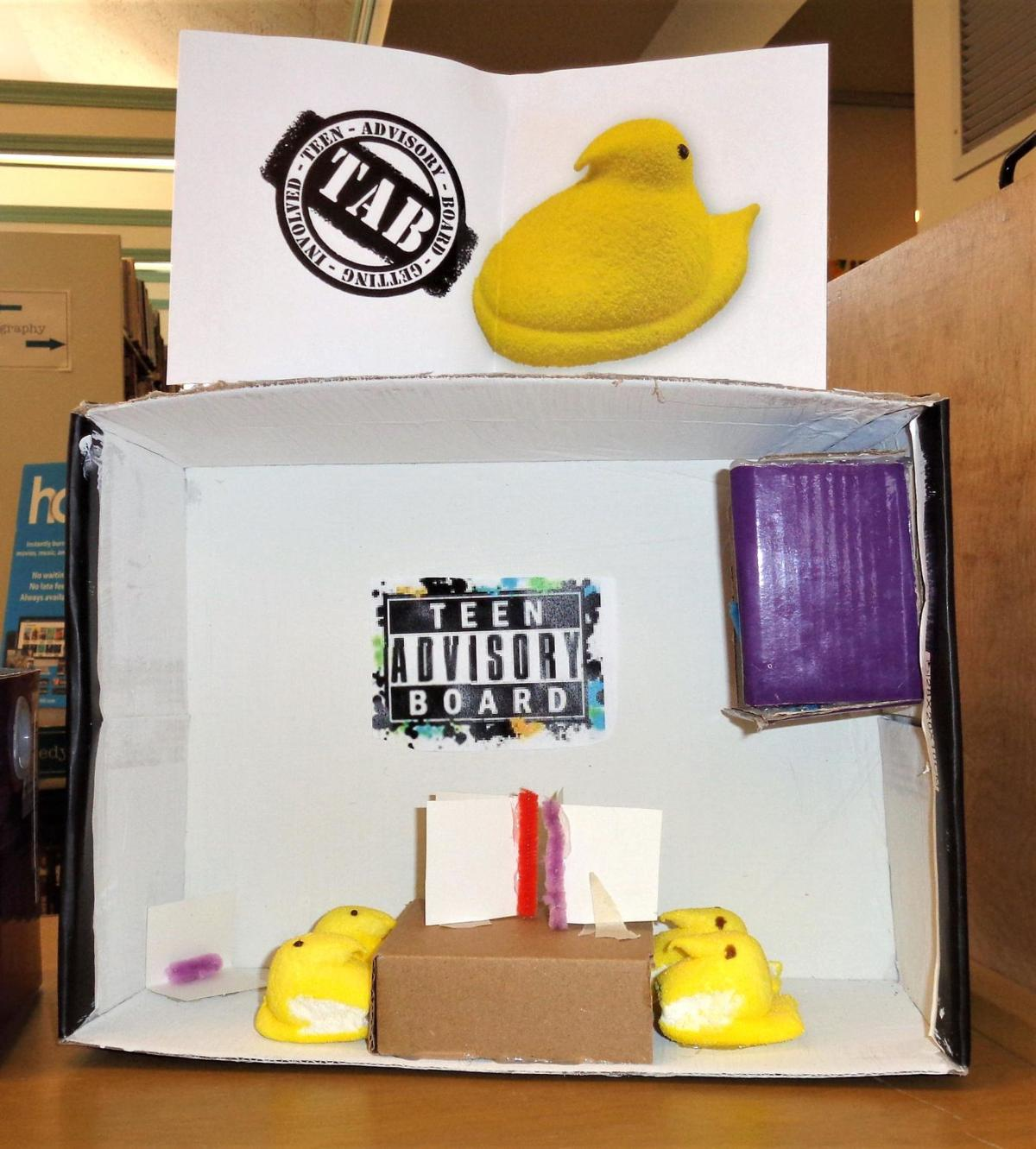 Kent Memorial Library's Peep-O-Rama is on — online that is