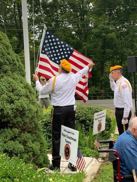 Barkhamsted Riverton Grange holds third Veteran of the Month recognition ceremony