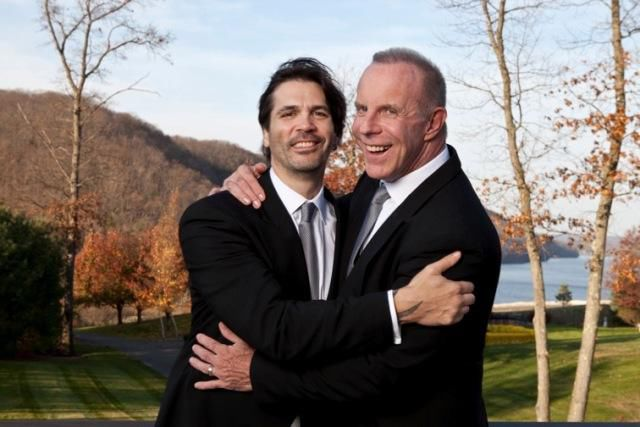 Adam broderick and pete goldstein wed community for Adam broderick salon southbury ct