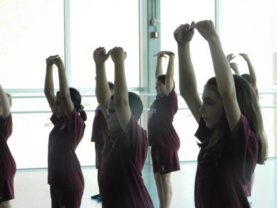 Nutmeg Conservatory teams up with local school for intro to ballet series