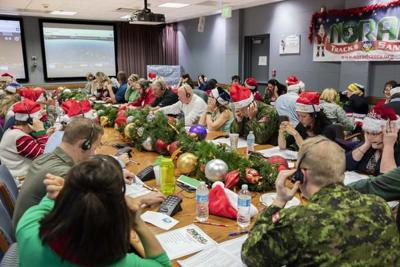 Rudolph's bright red nose helps NORAD track Santa on Christmas Eve