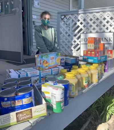 Renbrook student collects food for local food banks