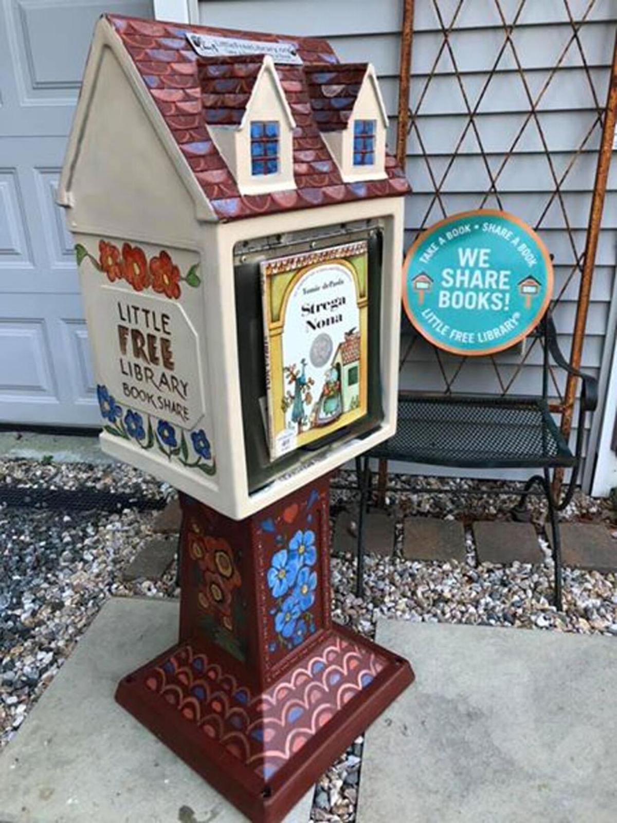 Little Free Library at StoneHill, in Morris, puts puts the fun in fundraiser