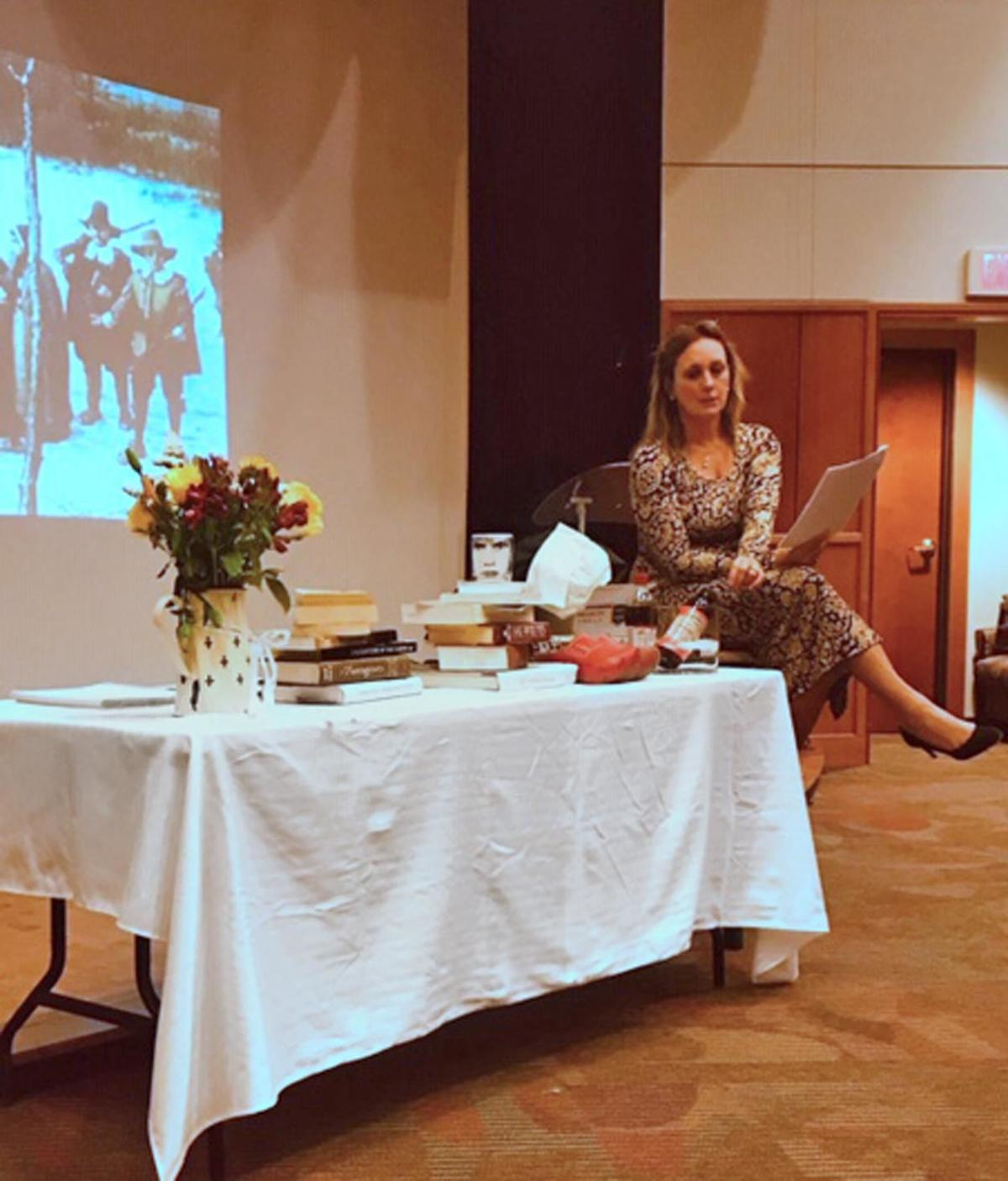 Louise van Tartwijk gives her take on Washington's notable women in lecture series