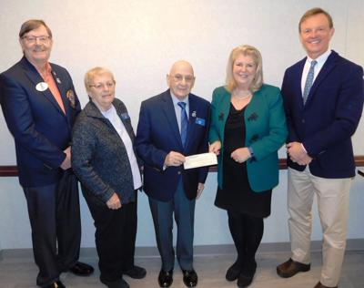 CHH Diabetes Center receives $1,000 donation from Harwinton Lions Club