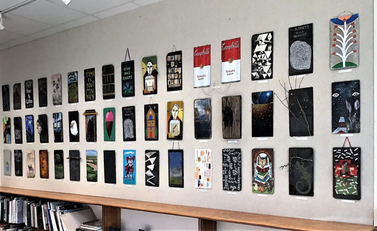 Slate of the Art 2020 Exhibition revealed at Hunt Library in Falls Village
