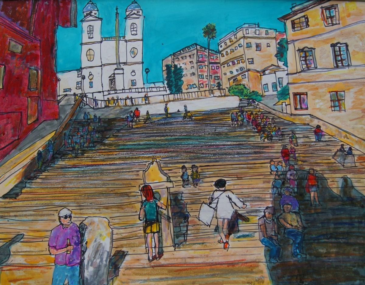 Longtime Goshen artist's new show celebrates 'Places and People'
