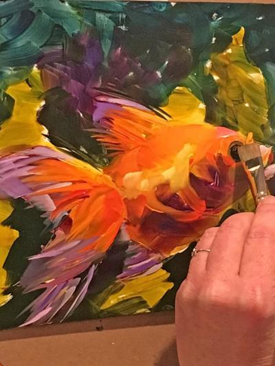 Oil painting workshop offered at Arts Escape in Southbury