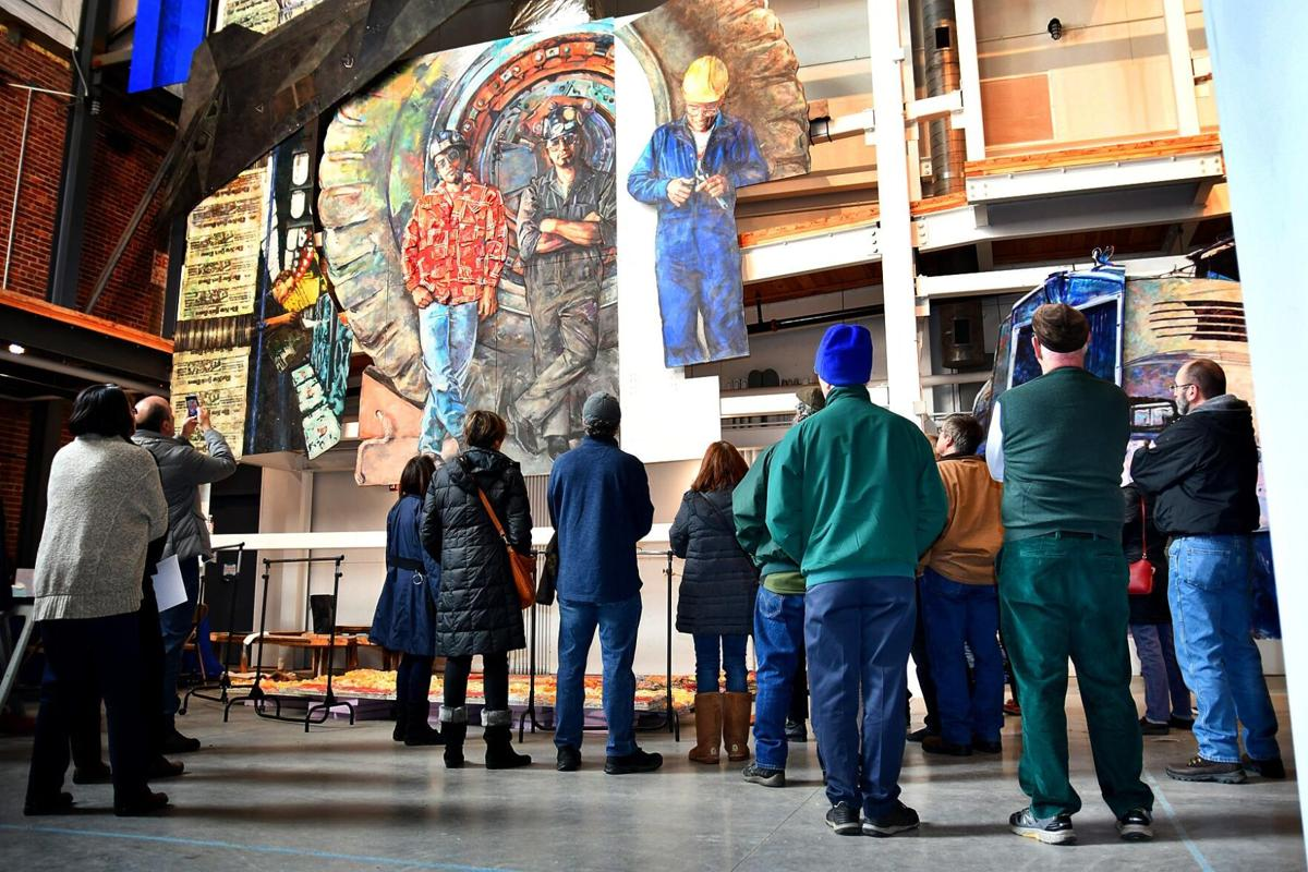 Winsted's American Mural Project offers small fundraisers in lieu of annual gala