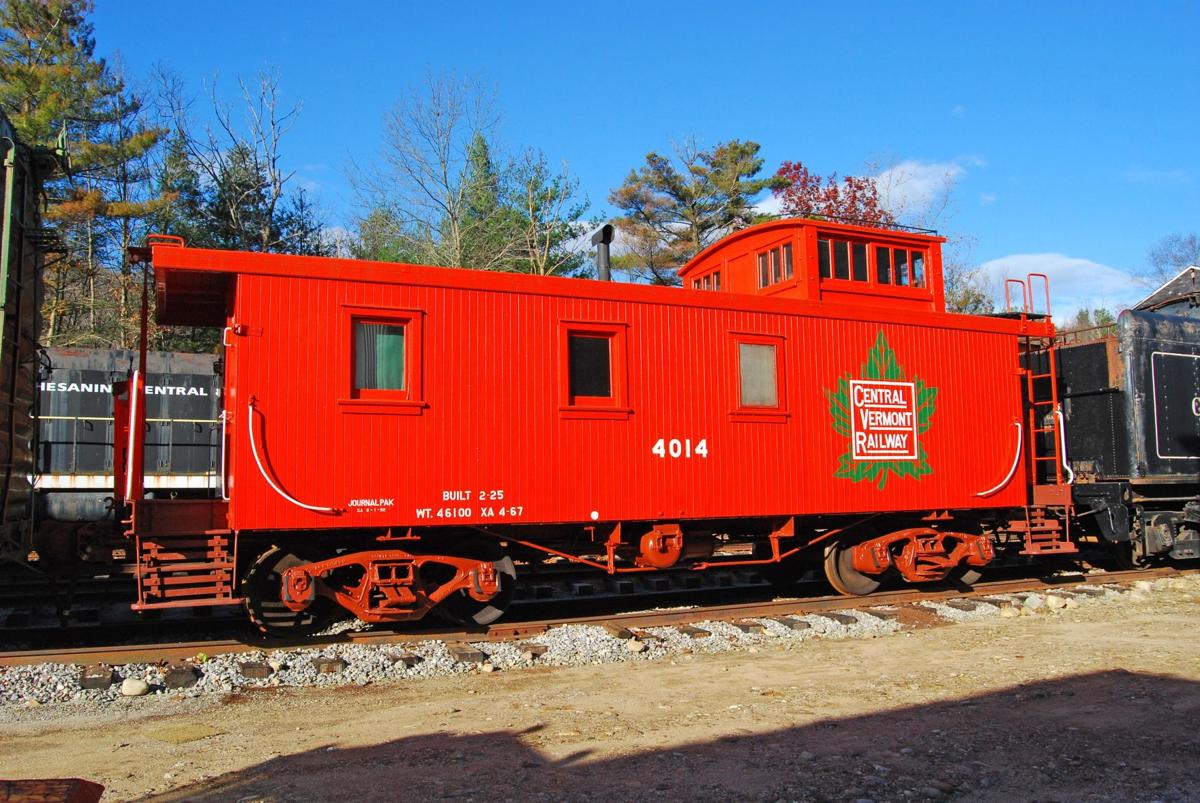 Railroad Museum of New England in Thomaston acquires antique wood caboose
