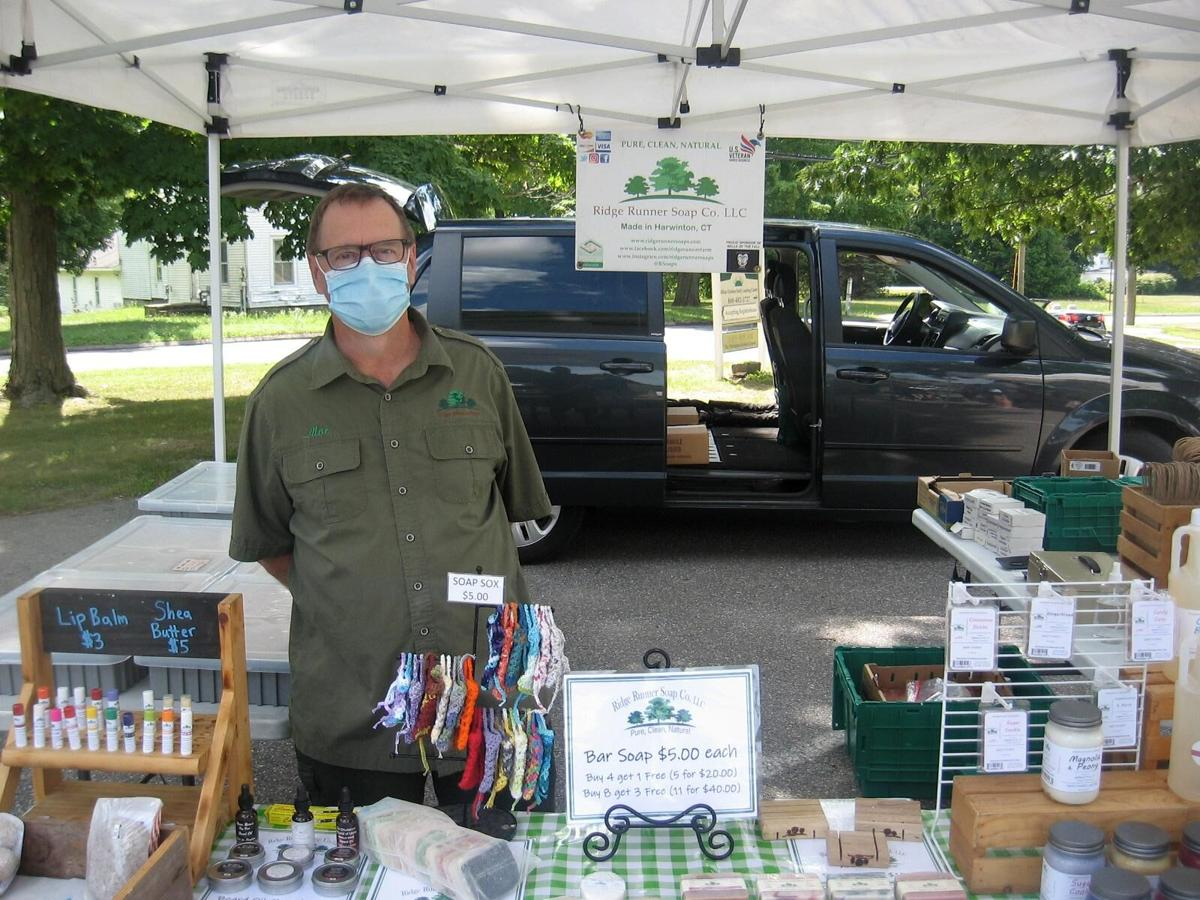 Harwinton's Ridge Runner Soaps uses all natural ingredients in its small batch bars