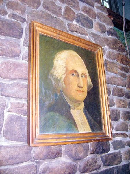 George Washington did not stay here…But he would have loved the hearty fare at the GW Tavern