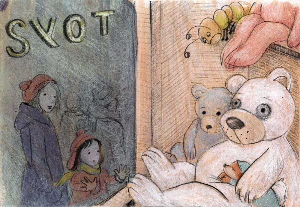 Children's book by part-time Cornwall resident features insomniac bear's adventures