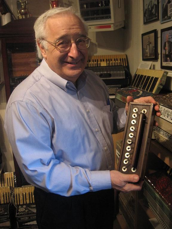 Canaan Collector Offering Accordions from the Past, Mobile Museum