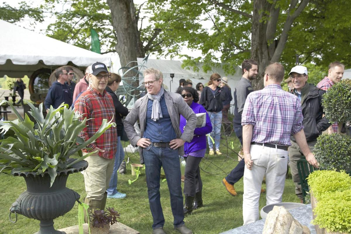 Trade Secrets, annual rare plant, garden antiques sale delights gardeners, assists Women's Support Services in Sharon