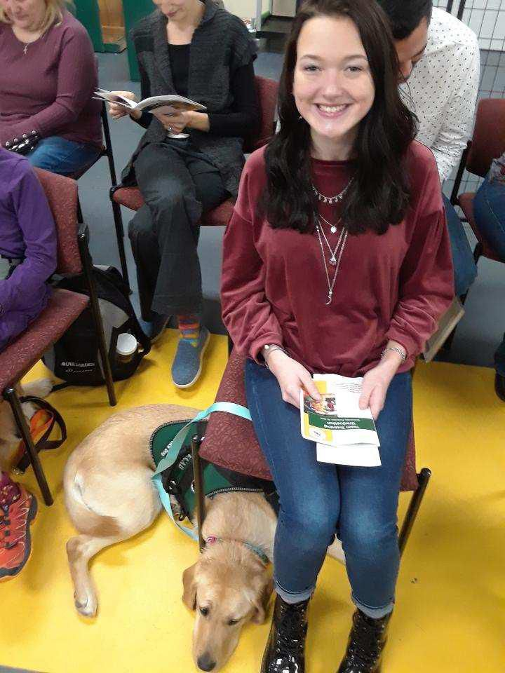 Students, service dogs graduate from ECAD training program