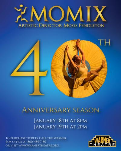 MOMIX marks 40th year with shows in Torrington