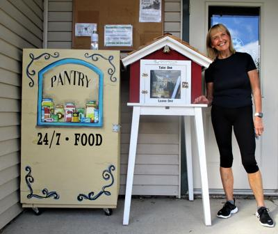 Wandering Little Free Library finds a new home in Goshen