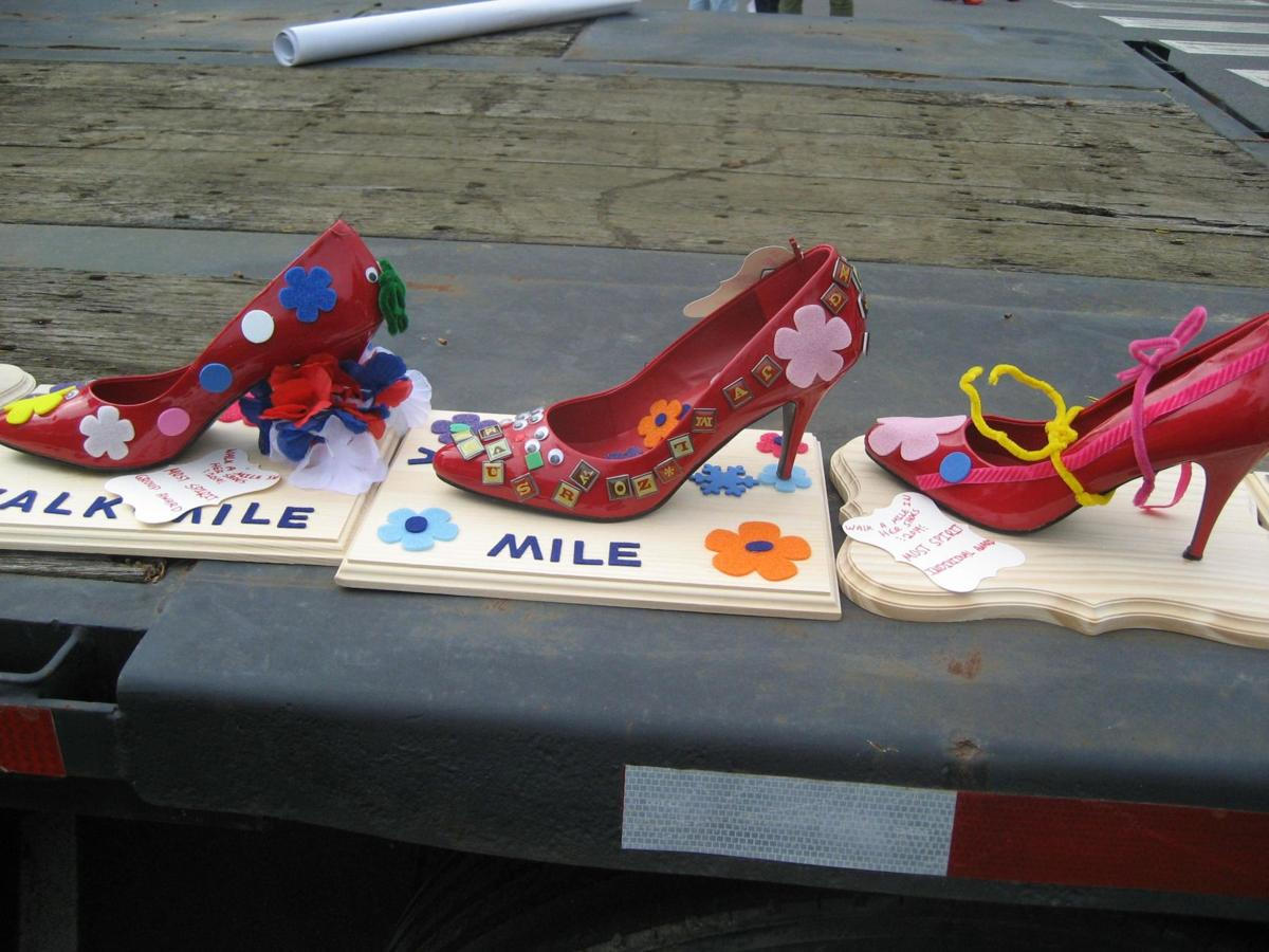 Walk a Mile in Her Shoes fundraiser goes virtual