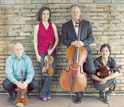 Music Mountain in Falls Village welcomes the Arianna Quartet