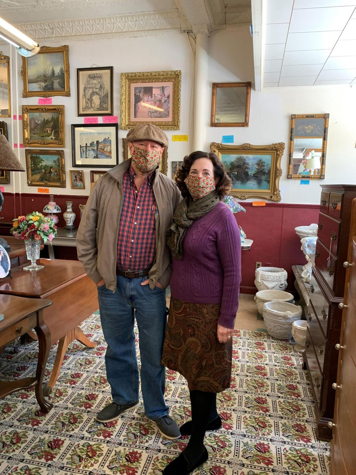 Winsted family reopens Villa's Corner Gallery on Main Street
