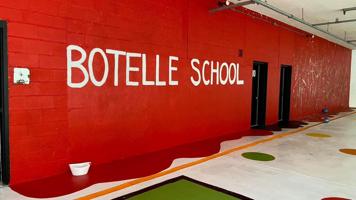 Norfolk's Botelle School gives students a bright welcome back