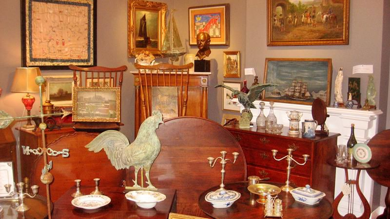 Wayne Mattox Antiques & Auctions combines traditional with whimsical