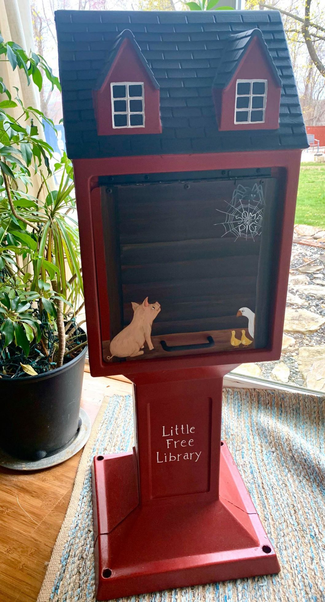 Little Free Library Corner: Calling all artists