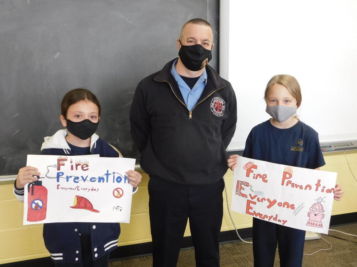 Torrington students honored for fire prevention posters