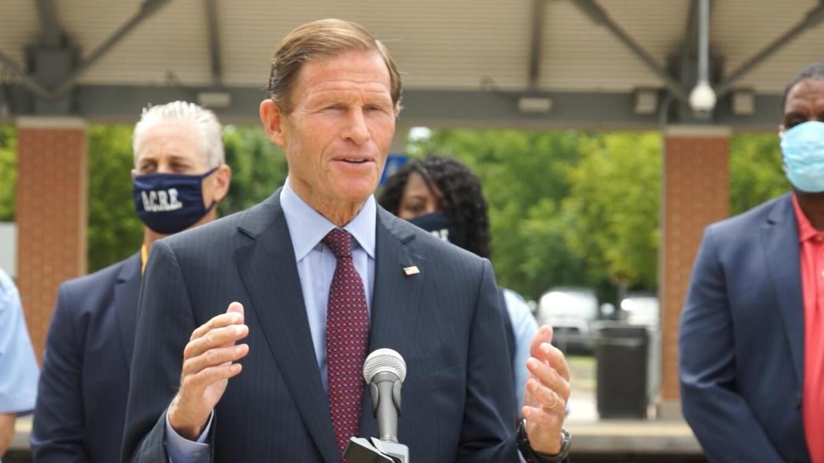 Blumenthal: Metro-North needs funds to run more trains, so we can social distance