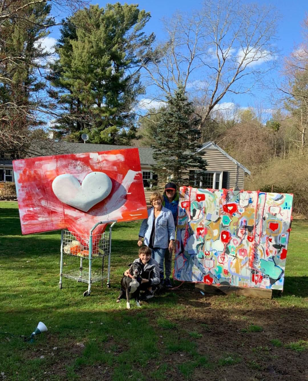 Torrington gallery encourages residents, businesses to put up hearts of support