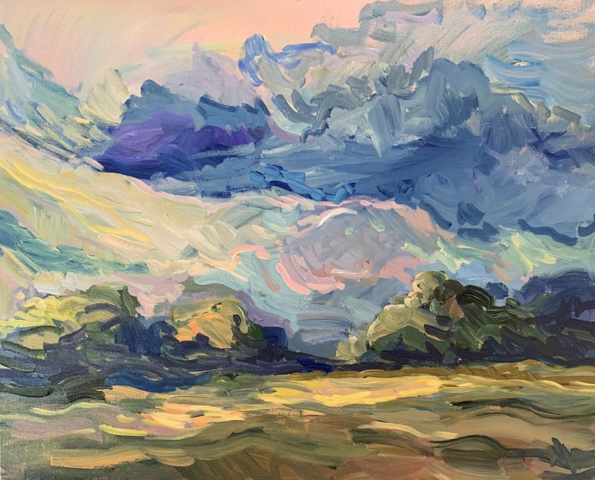 Kent Memorial Library exhibits paintings by Heather Scofield