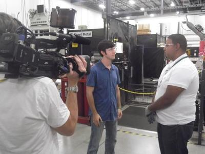 TV Show From California Tapes at FuelCell Energy in