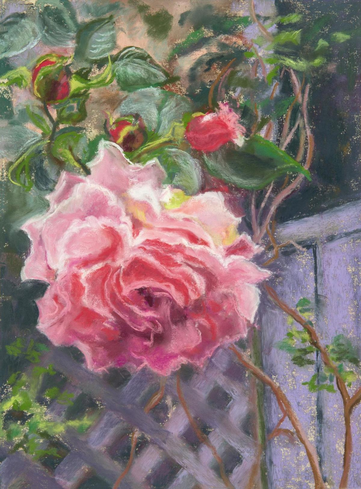 Nature-themed pastels, sculpture featured in David M. Hunt Library show in Falls Village