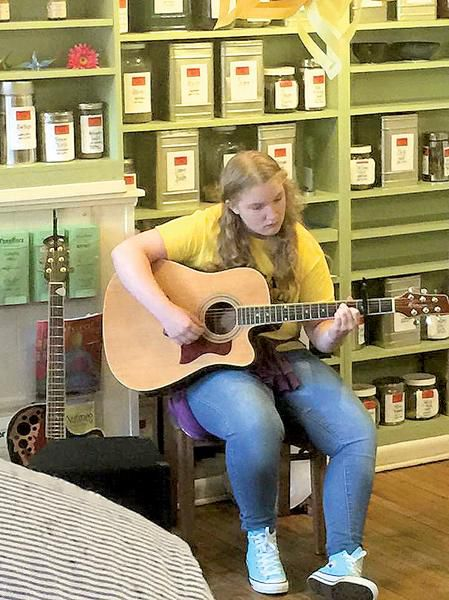 Cheryl Maust simply teaches guitar