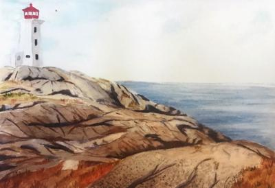 Charlotte Hungerford Hospital Artist of the Month is watercolorist