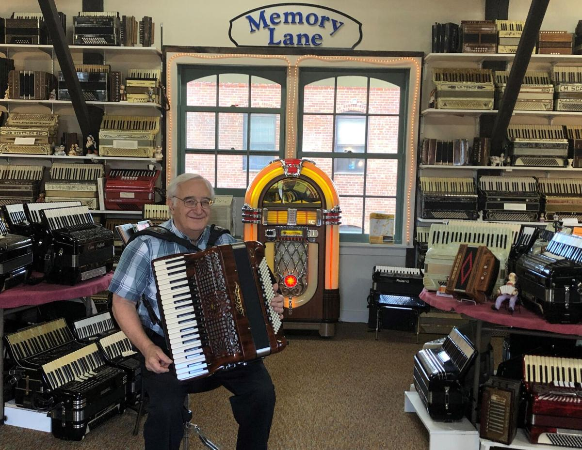 North Canaan accordion museum features 400 instruments and just as many stories