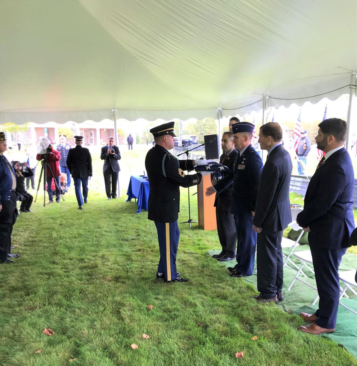 Remains of 4 veterans buried with honor at CT state cemetery