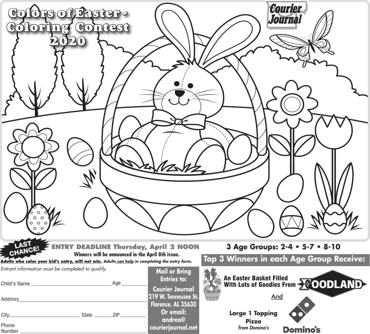 Easter Coloring Contest 2020