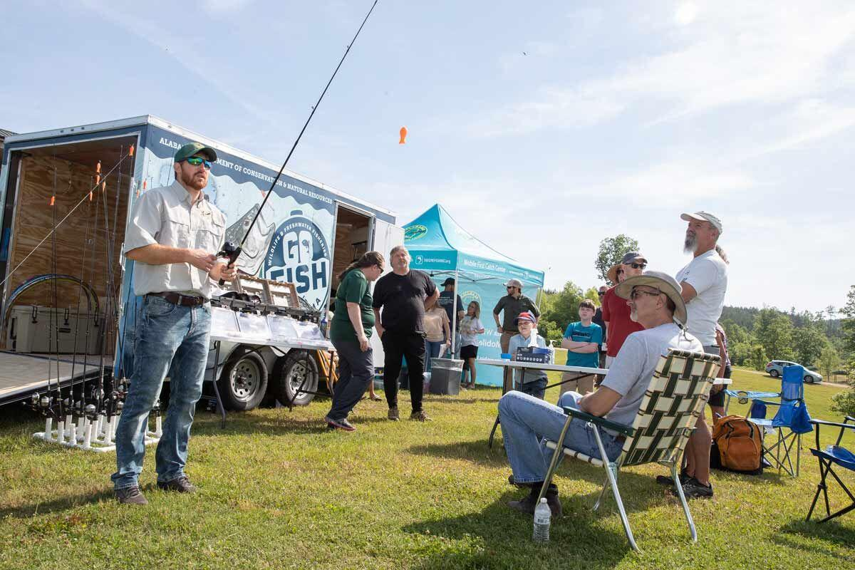 Learn New Angling Skills at Go Fish, Alabama! Event