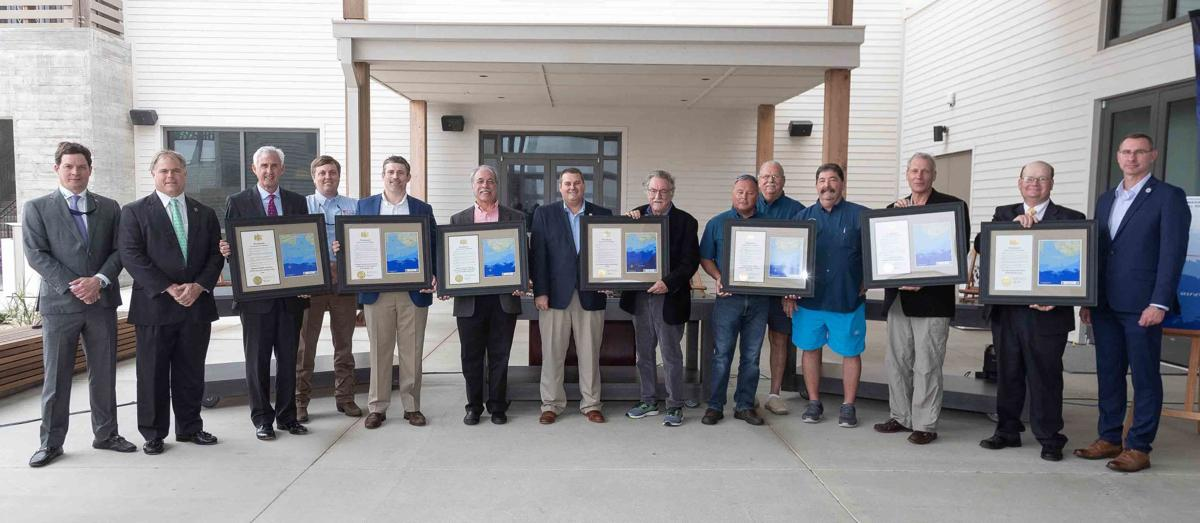 Marine Resources Honors Partners in World's Top Artificial Reef Program