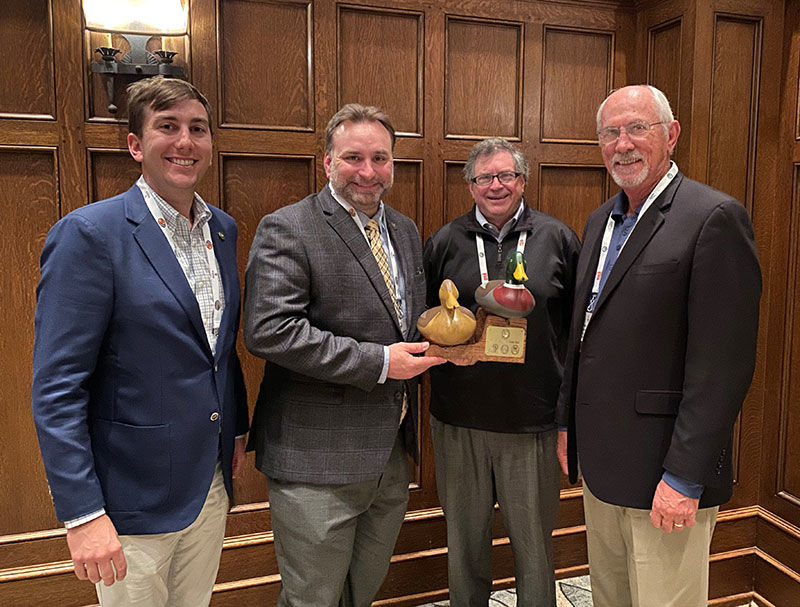 ADCNR Named Agency of Year at Sportsmen's Caucus Summit
