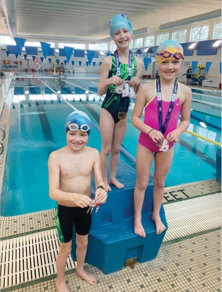 Swim Team Setting a FAST Pace