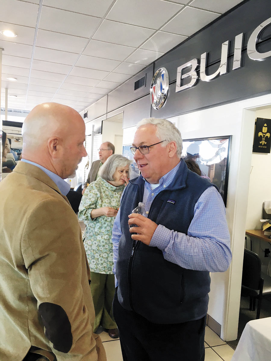 Miller Buick Gmc >> It S Business As Usual For Vic Ragsdale And His Staff At Ray