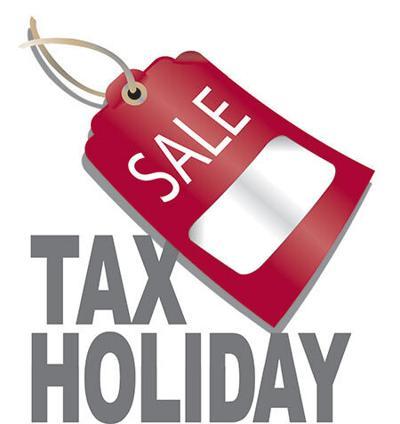 School Sales Tax Holiday