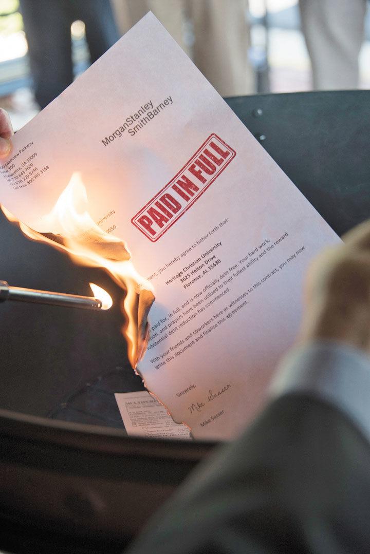 Note Burning at HCU