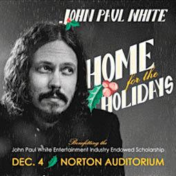 John Paul White Hosting Home for the Holidays