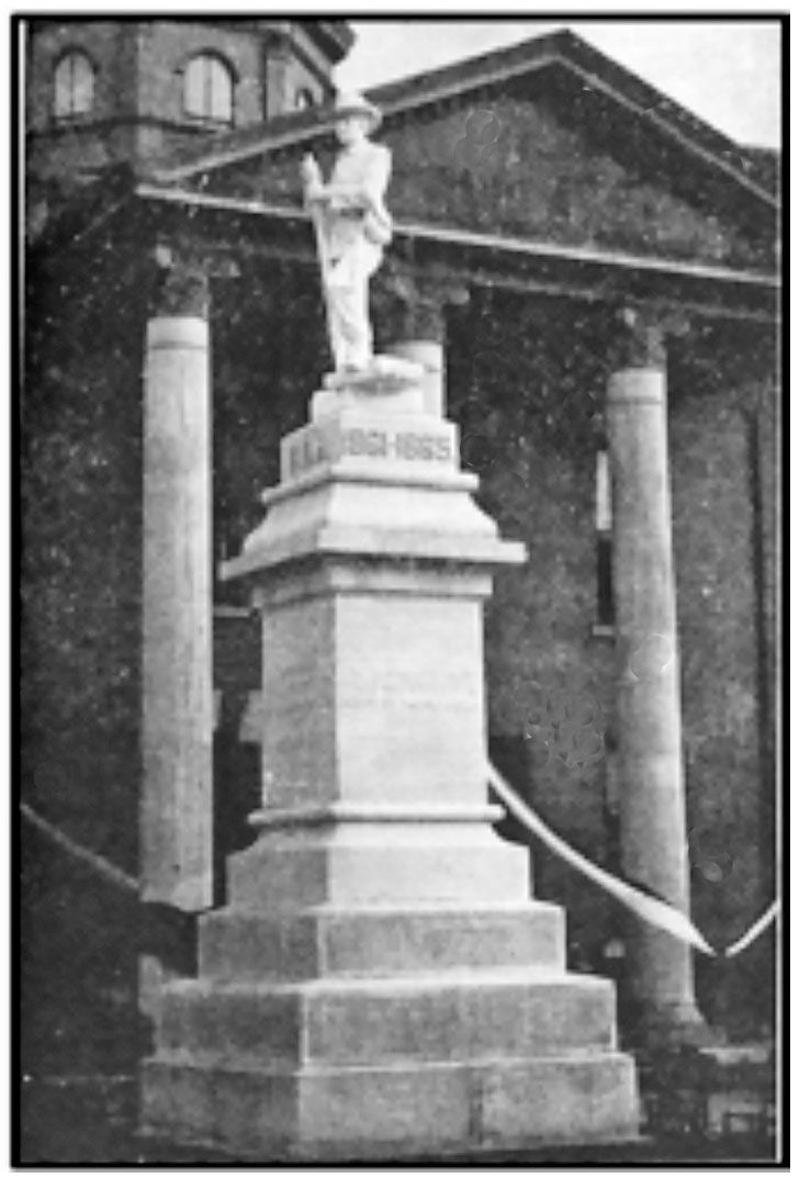 The History of Lauderdale County's Confederate Monument