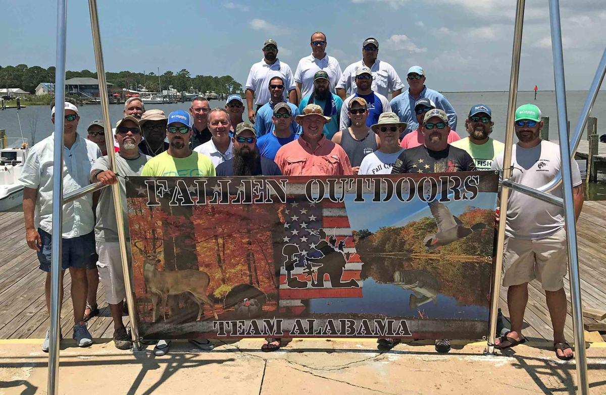 Captains Treat Fallen Outdoors to Alabama's Great Inshore Fishing